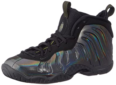 40a94321f27b5 Nike Little Posite One (GS) 644791-301 Legion Green Black Kids Shoes. Roll  over image to zoom in