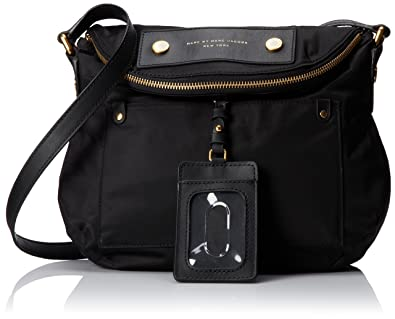 c70001e8d302 Marc by Marc Jacobs Preppy Nylon Natasha Cross Body Black One Size   Amazon.co.uk  Shoes   Bags