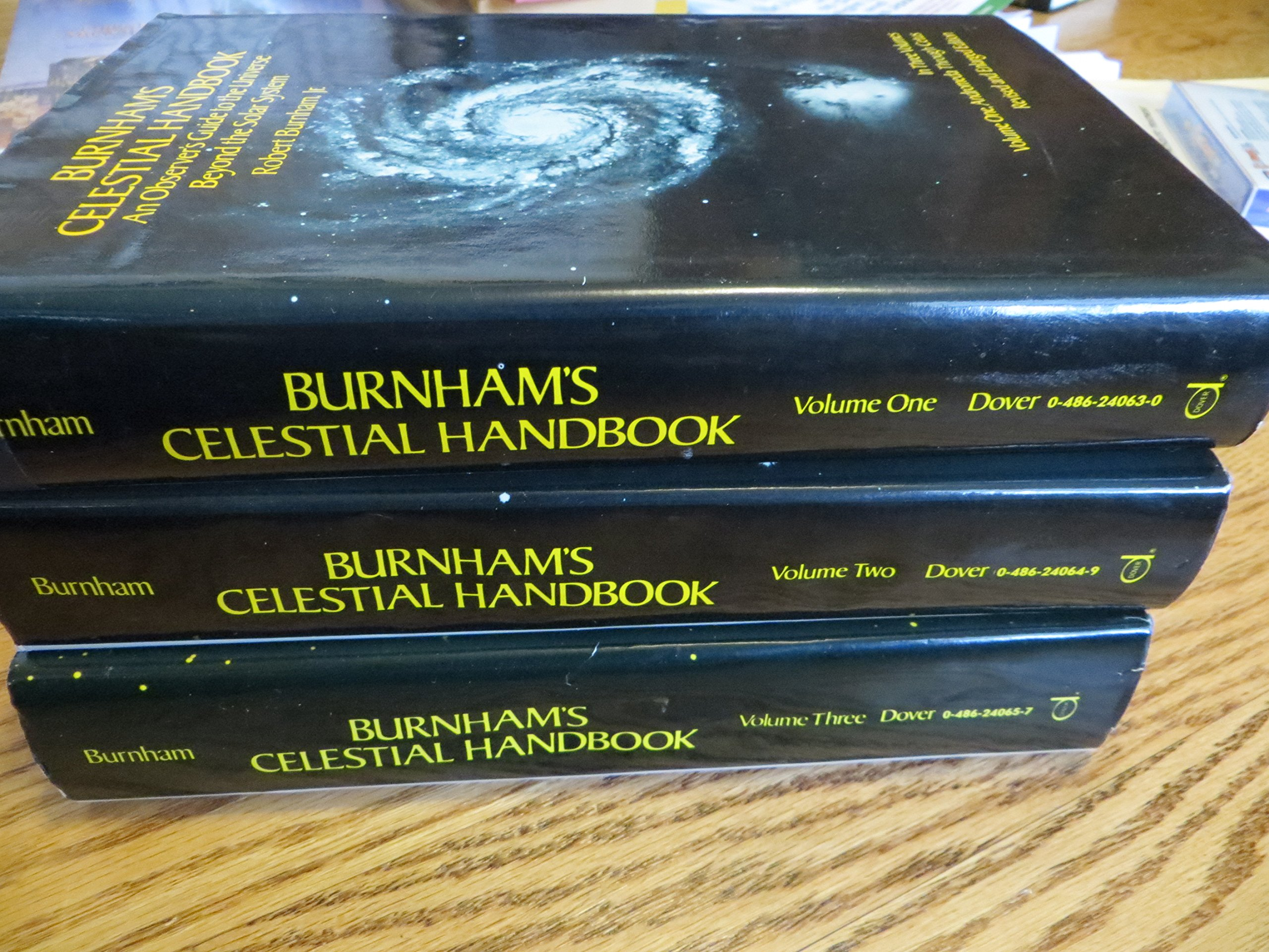 Burnham's Celestial Handbook : An Observer's Guide to the Universe Beyond the Solar System (3 Volumes), Robert  Burnham, Jr.