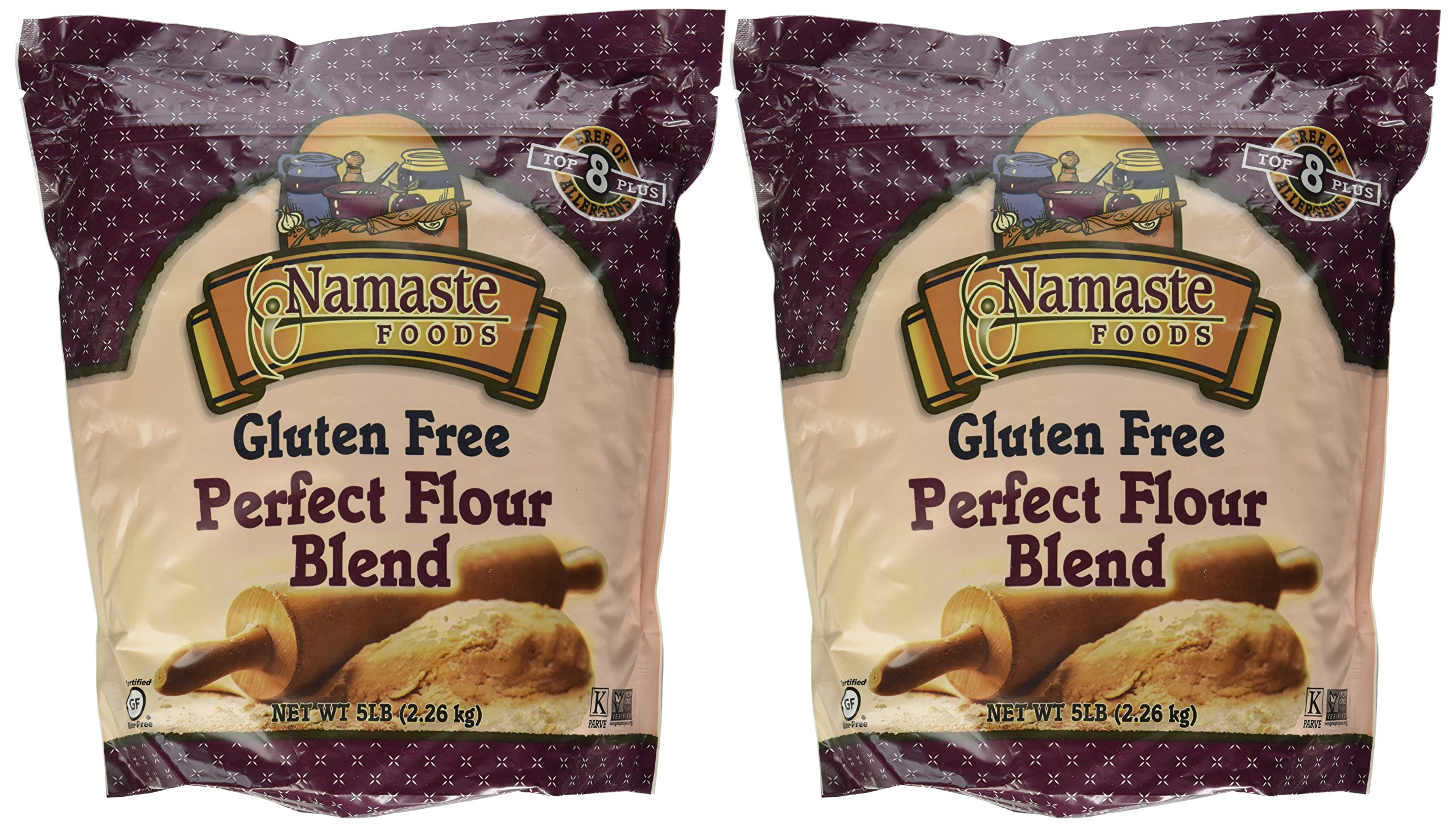 Namaste Foods Gluten Free PERFECT FLOUR Blend 5LB (2 Pack) by Namaste Foods