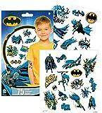 DC Comics BATMAN Temporary Tattoos - Pack of 75