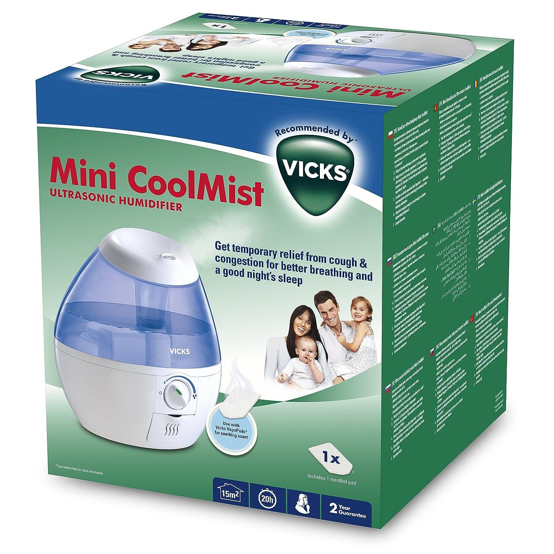 VICKS Cool Mist Mini Humidificateur  Ultrasons Amazon