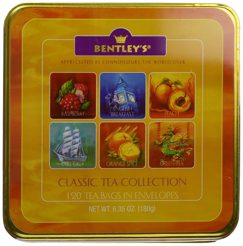 Amazon.com : Bentley's Finest Tea Classic Collection, 120-Count ...