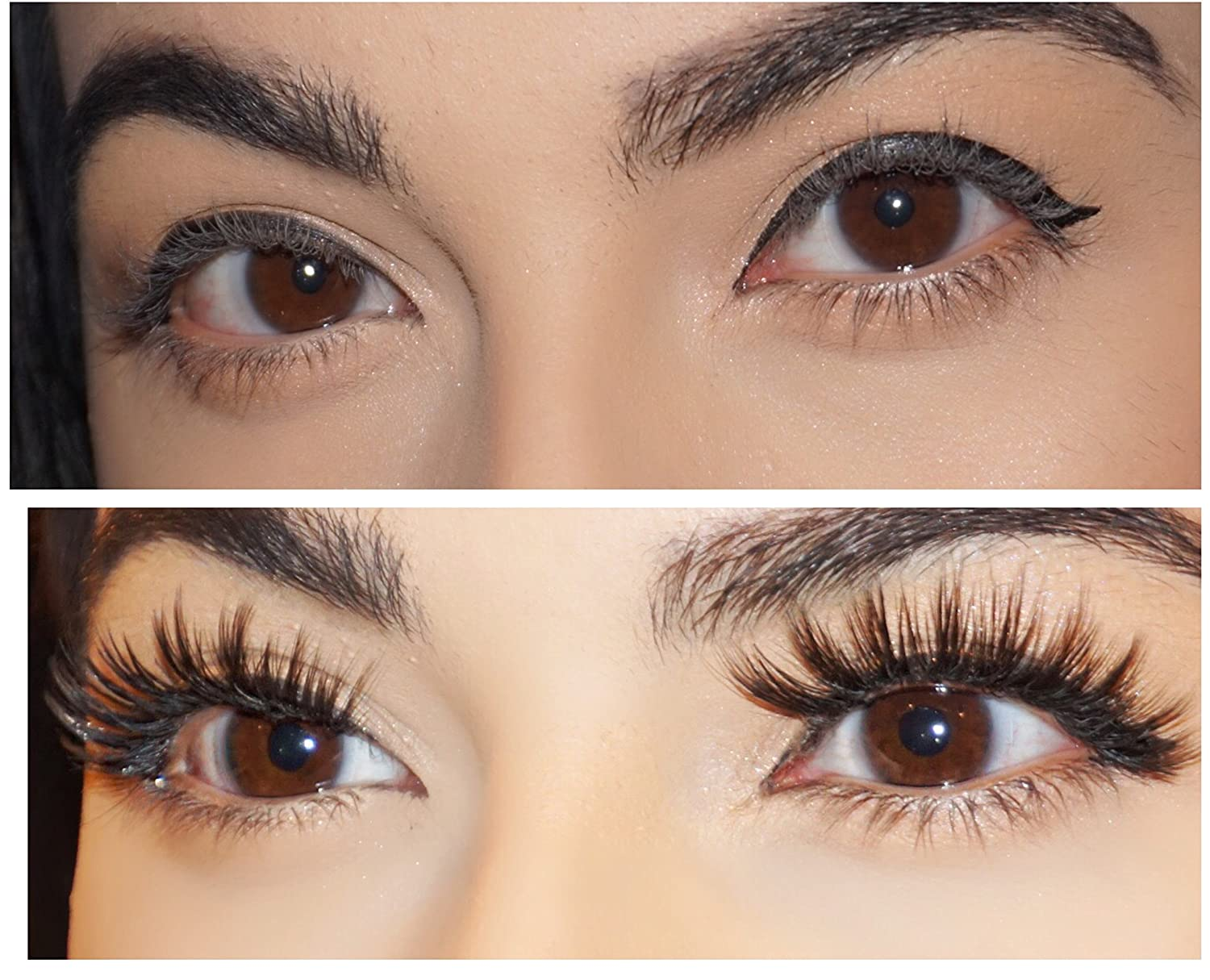 84ad2994384 Amazon.com : Mona Lashes | Gaia Lashes | False Eyelashes |Cruelty-Free |  Reusable | Handmade : Beauty