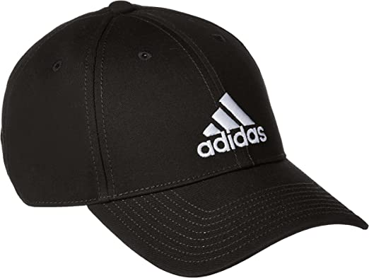 adidas 6P Cap Cotton Gorra de Tenis, Hombre, Negro (Negro/Negro ...