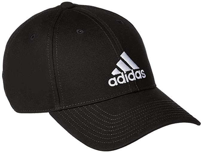 Adidas Training Classic Six-Panel Cap  (S98151-BLACK BLACK White-OSFM Black Black White OSFM)  Amazon.in  Clothing    Accessories 4d4141805bae