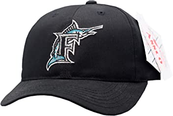 2bea5e8850f Florida Marlins Youth Snapback Hat Mini Blockhead 11771