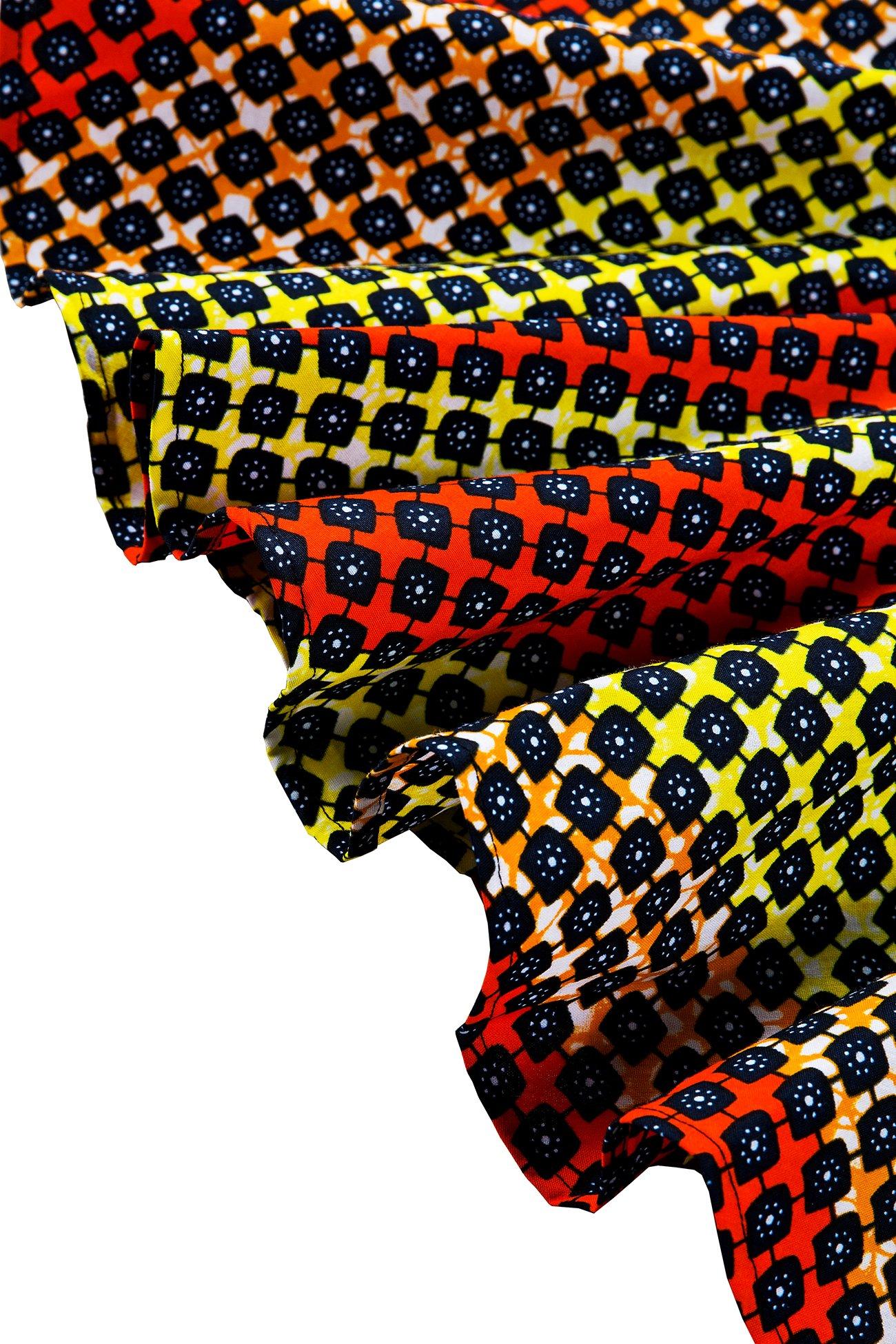 Shenbolen Womens Dashiki Tops Sleeveless Summer African Printed Slim Fit Shirts Blouse (Medium,B) by Shenbolen (Image #5)