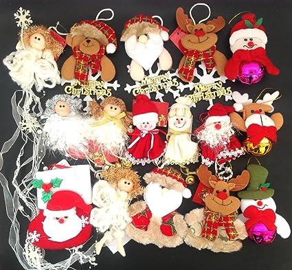 Adornos decoración colgante muñecos para árbol de Navidad 10 ...