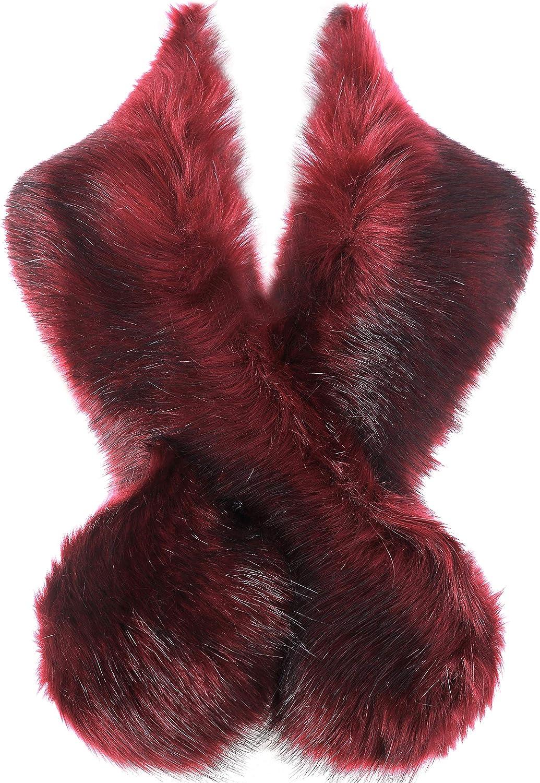 BABEYOND Faux Fur Collar...