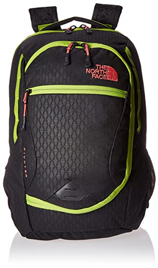 c44b36f966f9 Amazon.com  The North Face Women s Pivoter TNF Black Emboss Calypso Coral  Backpack  Sports   Outdoors