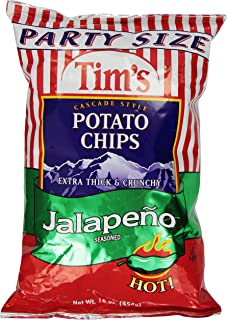 product image for Tims Cascade Tim's Chips Jalapeno, 16 oz
