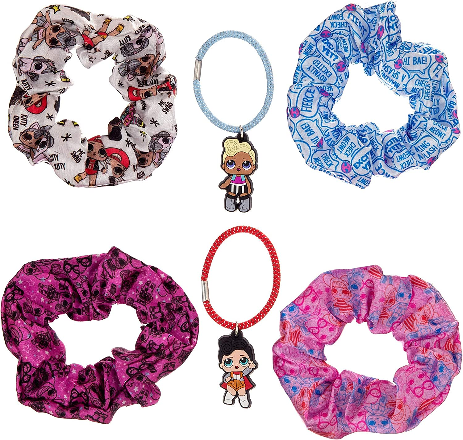 Party Scrunchies Deluxe Pattern