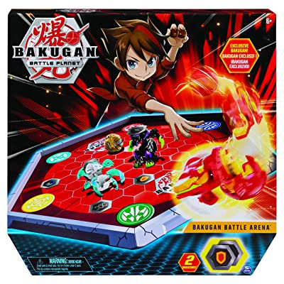 Bakugan 6045142 Battle Arena, Game Board Collectibles, for Ages 6 and Up, Multicolour: Toys & Games