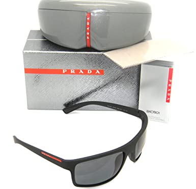 Amazon.com: New Authentic Prada anteojos de sol PS 02qs ...