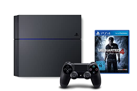 PlayStation 4 - Konsole (1TB) + Uncharted 4: A Thief's End [CUH ...