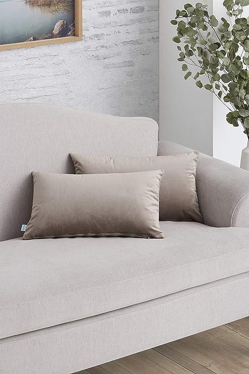Easycosy - Pack Funda de Cojín Decorativo Luxury para Sofá ...