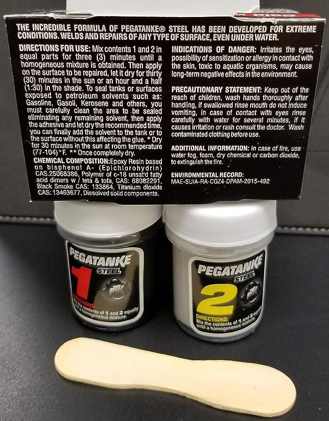 Amazon.com: Pegatanke Steel (Professional Strength Adhesive): Home Improvement