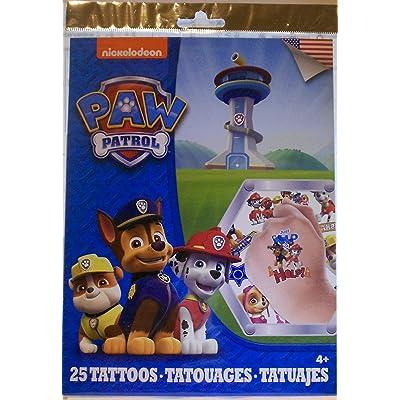 Savvi Paw Patrol 25 Temporary Tattoos: Toys & Games [5Bkhe0300331]