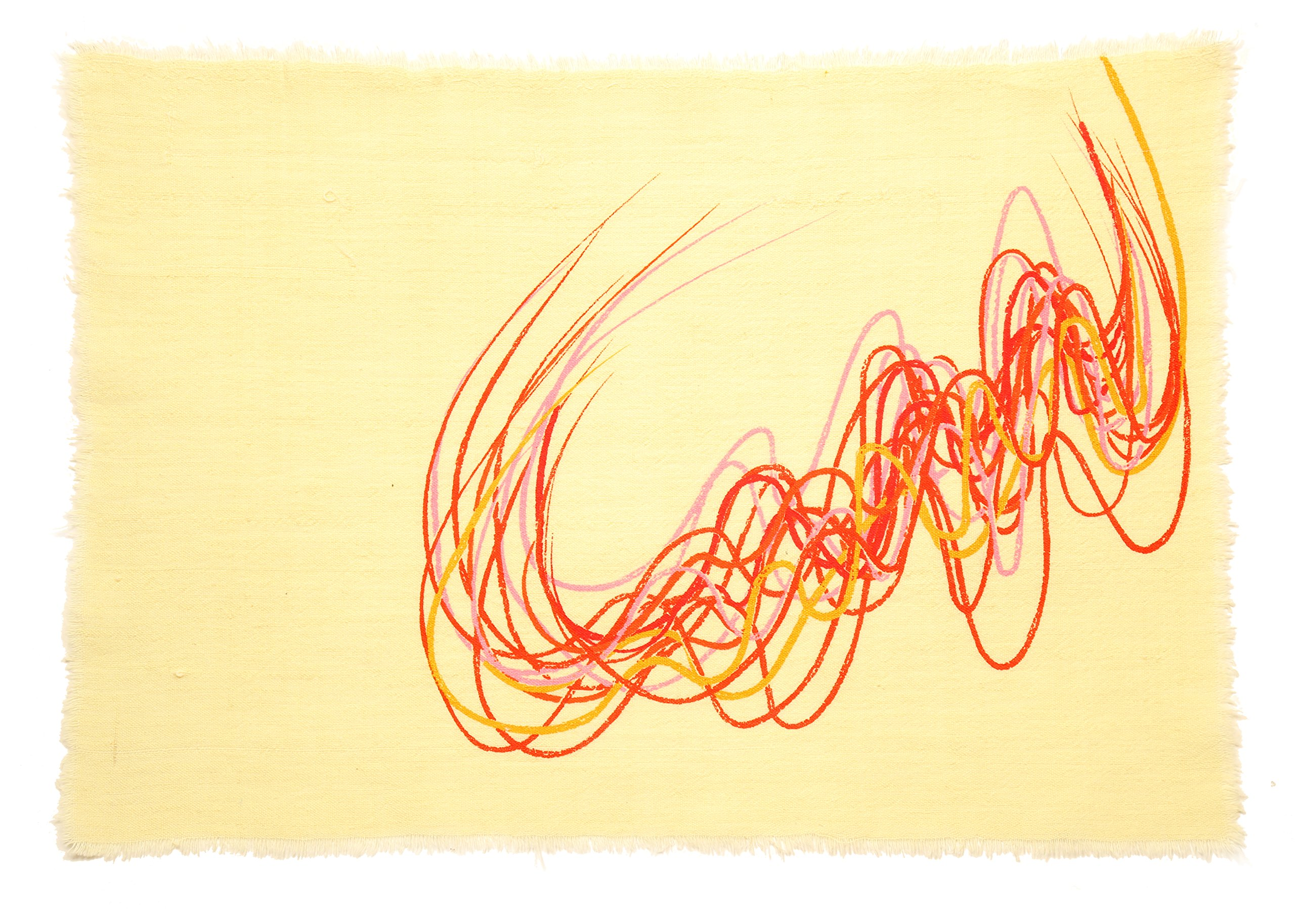 Gitika Goyal Home Crayons on a Table Mat, 17''