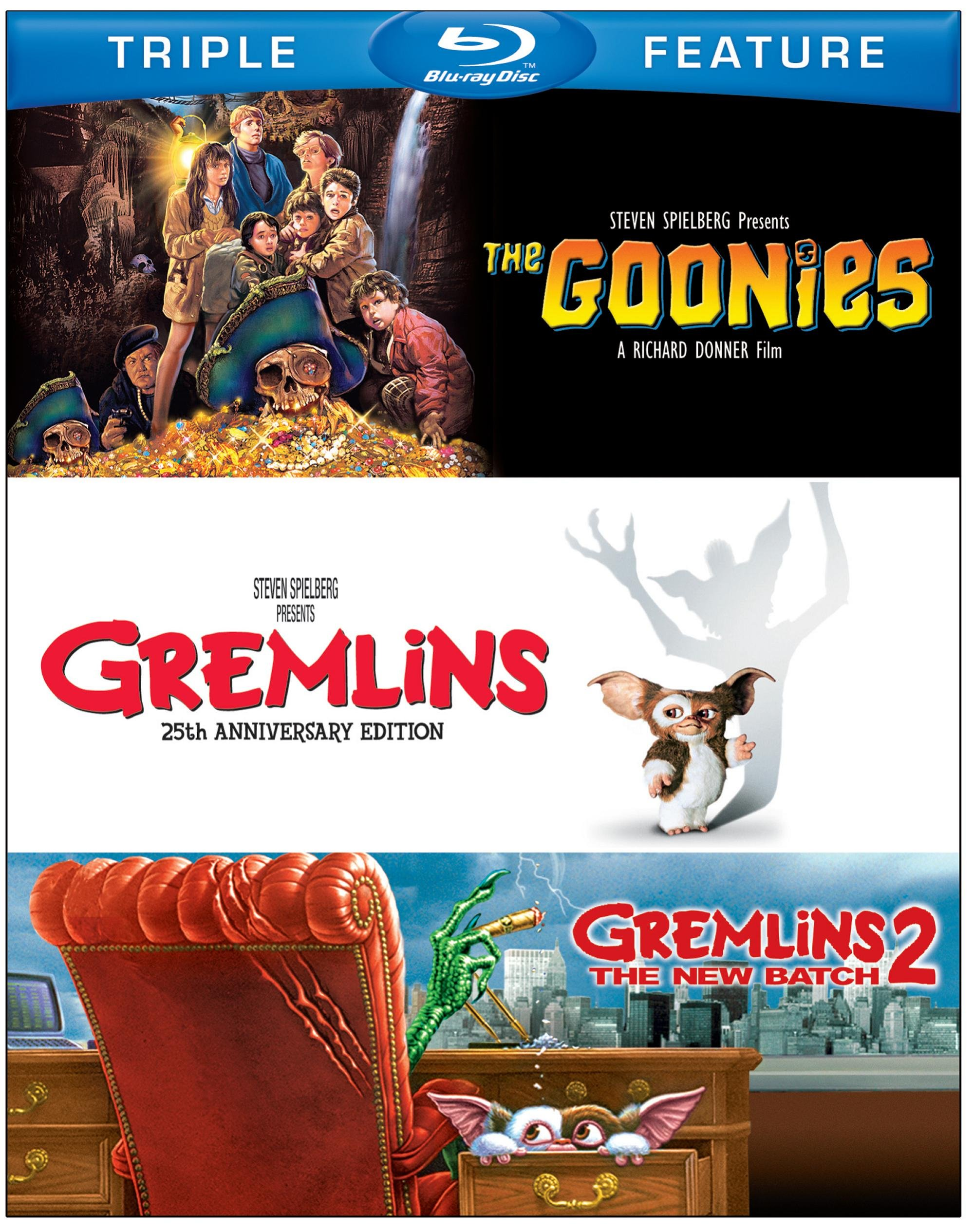 Goonies The / Gremlins / Gremlins 2: The New Batch (Bd) (3Fe) [Blu-Ray] 4
