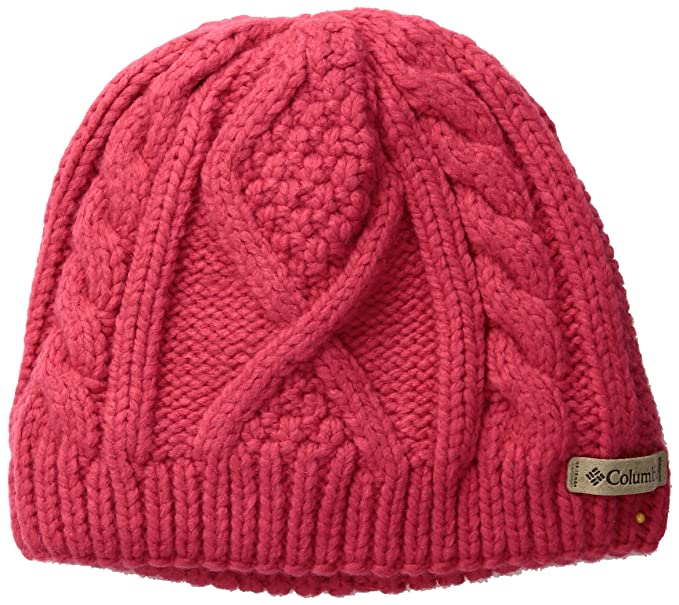 fc01c3286a9 Amazon.com  Columbia Big Girls  Youth Cable Cutie Beanie  Clothing