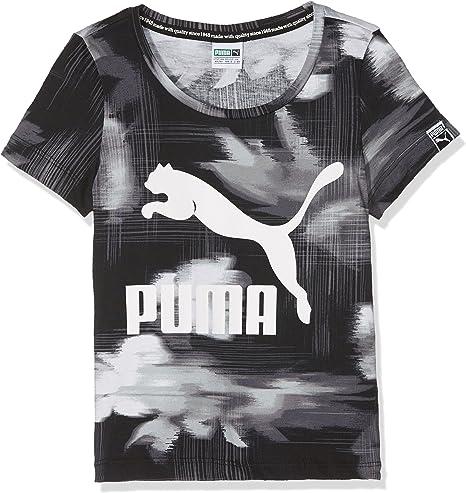 Puma Classics Aop T Shirt Enfant