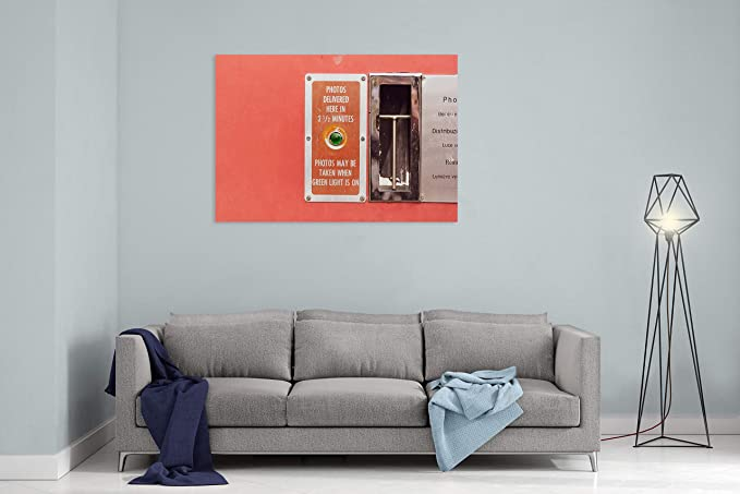 Amazon.com: Sign Slot Machine and Instruction - Canvas Wall ...