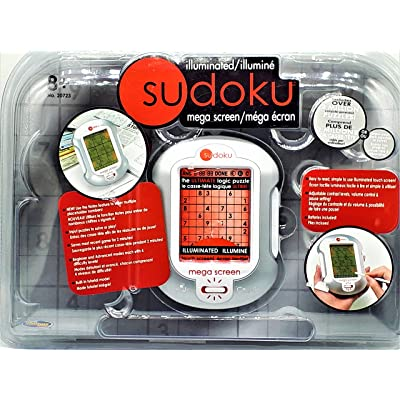 Sudoku Mega Screen - Illuminated Electronic Mega screen: Toys & Games