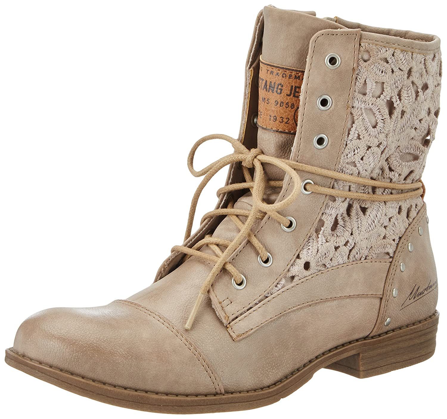 Mustang 1157-527, (318 Botines Femme, Braun (318 Taupe) Marron Femme, (Taupe) (Taupe) e228493 - piero.space