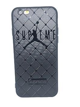 Funda Carcasa de Silicona iPhone 6 o iPhone 6s J Basketball Efecto ...