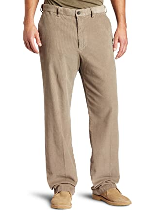 Amazon.com: Haggar Men's Big/Tall Work To Weekend Corduroy Plain ...