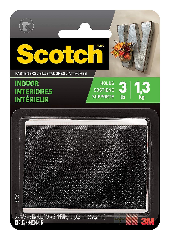Scotch Multi-Purpose Fasteners, 2x 3 Inches, 3 Sets per Pack (RF7051)