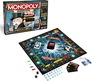 Hasbro Monopoly Game: Ultimate Banking Edition Niños y Adultos Simulación económica - Juego de Tablero (Niños y Adultos, Niño/niña, Simulación económica, AAA, Alcalino): Amazon.es: Juguetes y juegos