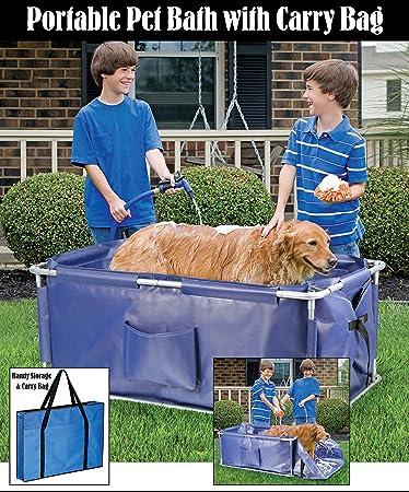 Charming Portable Foldable Pet Bath Tub
