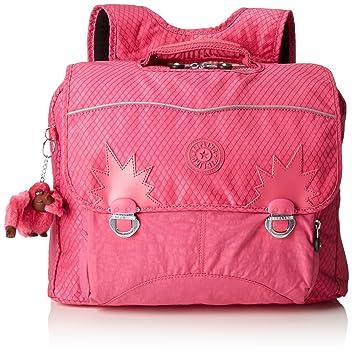 Kipling INIKO Mochila Mediana, Carmine Pink Bl (Rosa): Amazon.es: Equipaje