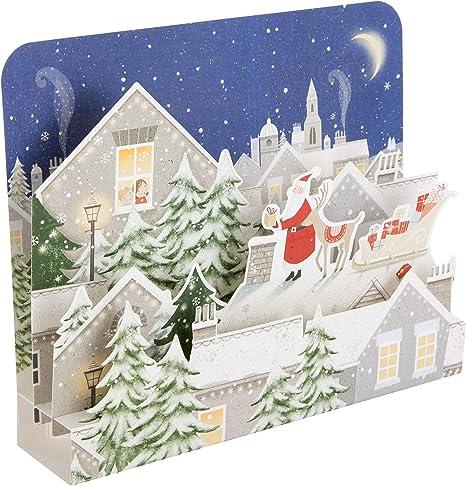 Cute LUXE cartes de Noël-Charmante amie-foil /& Paillettes Noël Qualité Premium