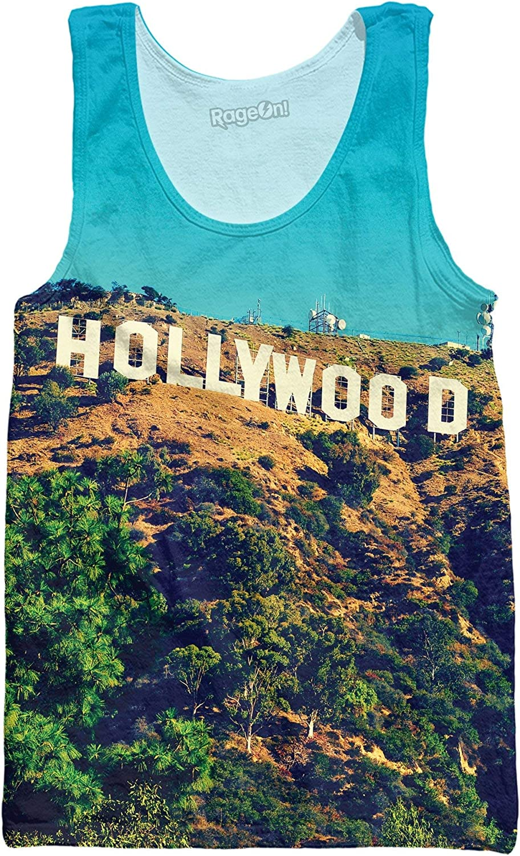 RageOn Classics Hollywood Premium All Over Print Tank Top