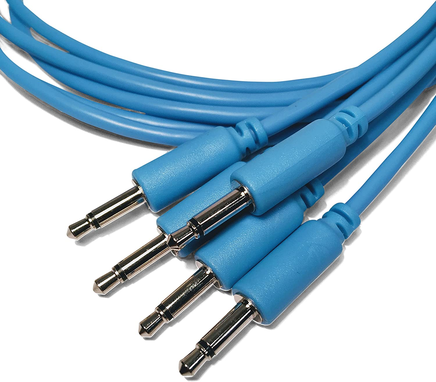 10 colores// 5 longitudes disponibles 5 piezas Eurorack Modular Cables de Patch
