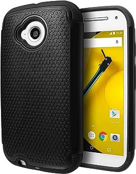 Funda Motorola Moto E (2da Generación, 2015), Cimo [Inquebrantable ...