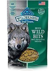 Blue Buffalo Wilderness Trail Treats Wild Bits Grain Free Soft-Moist Training Dog Treats, Duck Recipe 4-oz bag