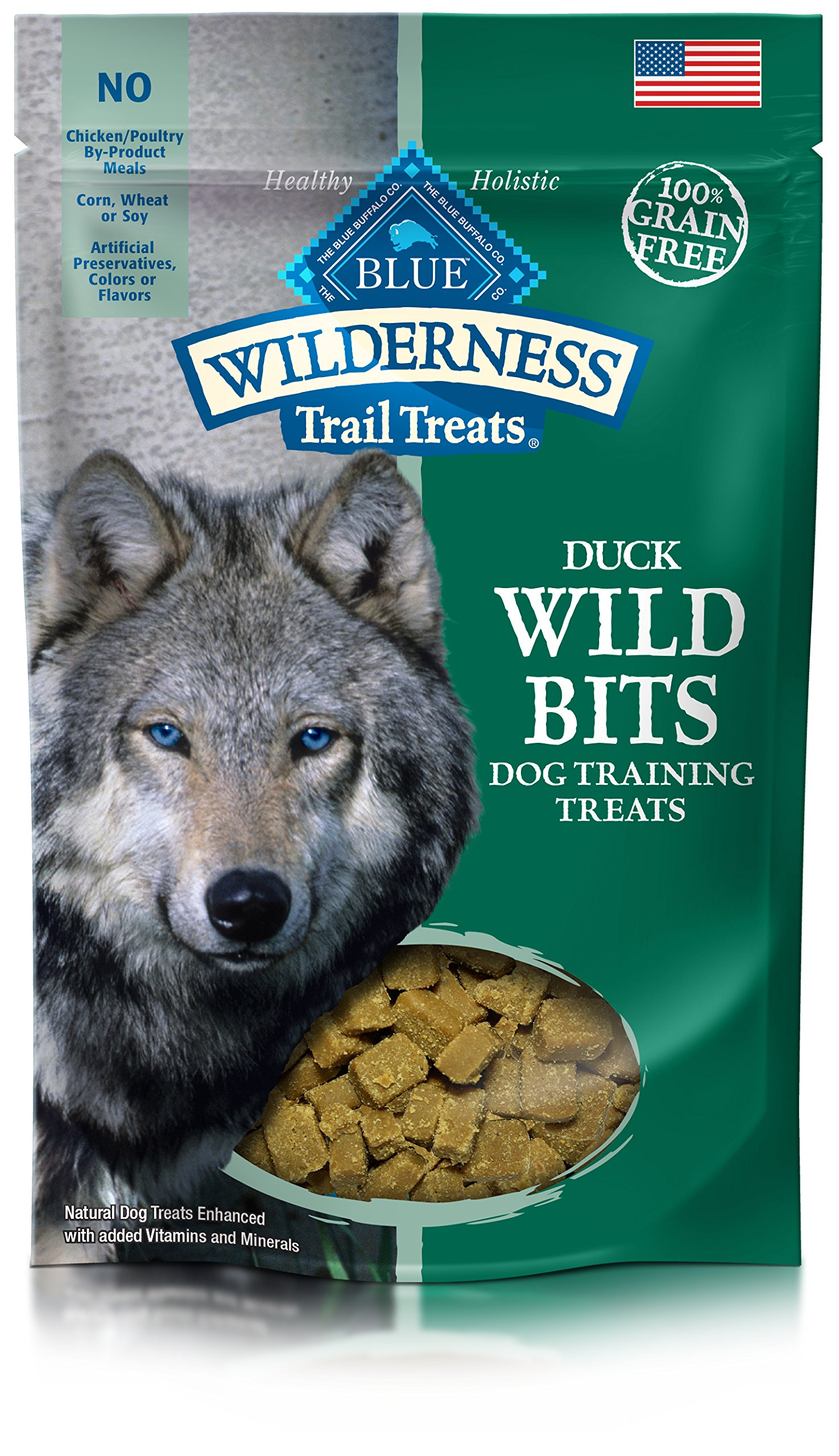 Blue-Buffalo-Wilderness-Trail-Treats-Wild-Bits-Grain-Free-Soft-Moist-Training-Dog-Treats-Duck-Recipe-4-oz-bag