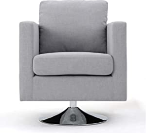 Christopher Knight Home 300587 Holden Arm Chair, Light Grey