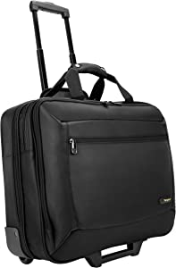 Targus CityGear Rolling Travel Case for 17-Inch Notebooks/Laptop, Black/Grey (TCG717)