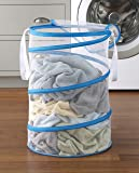 Whitmor 18 Inch Collapsible Hamper White with