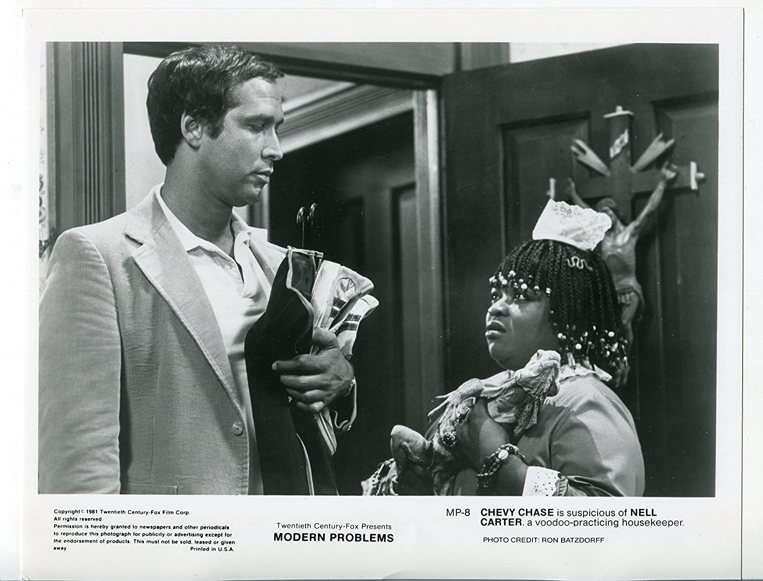 Movie Photo Modern Problems Nell Carter Chevy Chase 8x10