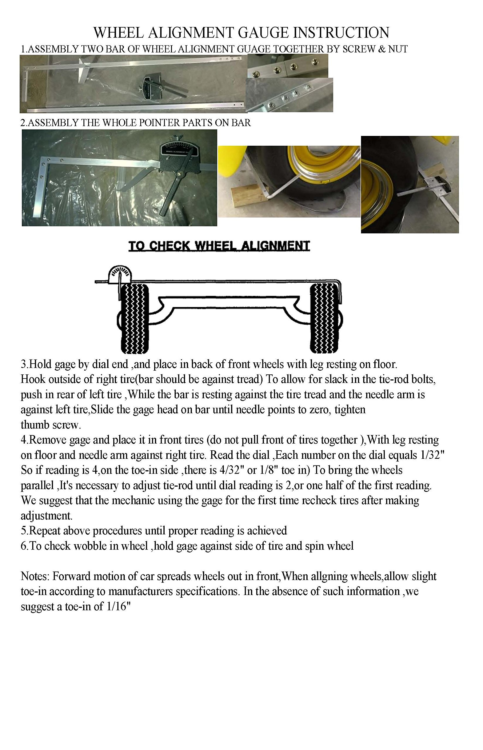 Wheel-Alignment-Toe-In-Toe-Out-Gauge