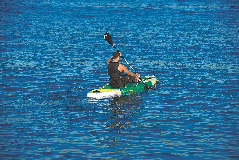 y bolsa de transporte Tabla Paddle Surf Hinchable Hydro-Force Aqua Journey Bestway inflador 274x76x12 cm con remo de aluminio Bestway 65302