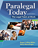Paralegal Today: The Legal Team at Work (MindTap Course List)