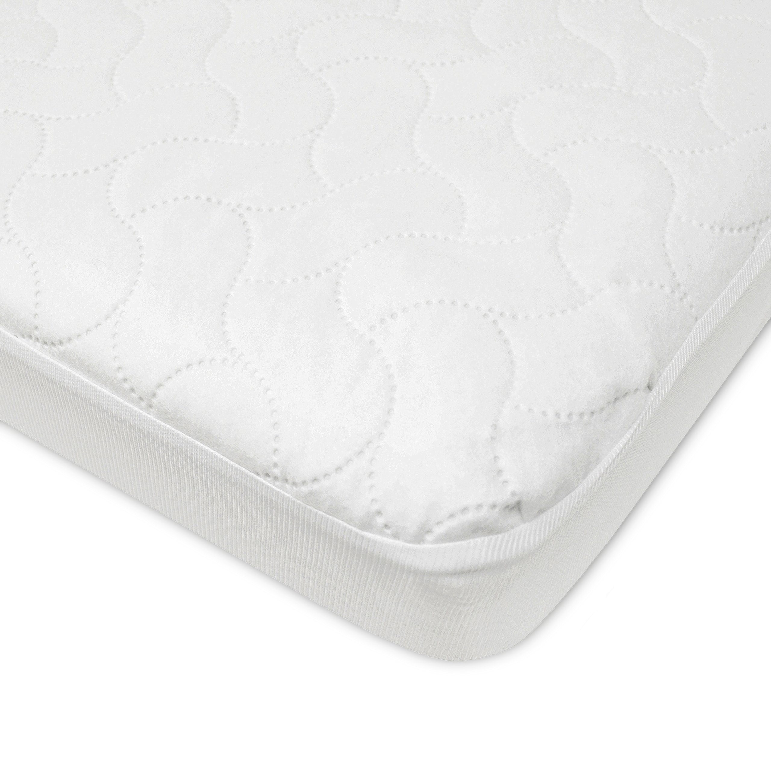 American Baby Company Waterproof Fitted Pack N Play Playard Protective Mattress Pad Cover, White